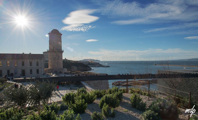 Marseille-port-Mucem